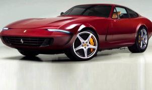 Ferrari 365 GTB/4 Daytona Rendering