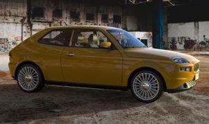 Fiat 127 render