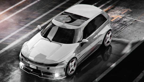 Fiat Uno Turbo render