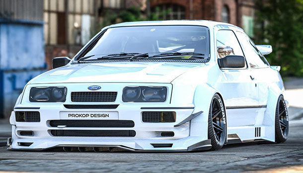 Ford Sierra RS Cosworth - Rostislav Prokop