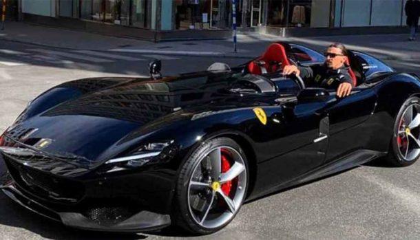 Ibrahimovic - Ferrari Monza SP2