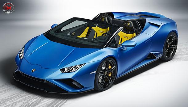 Lamborghini Huracan EVO Rear-Wheel Drive Spyder