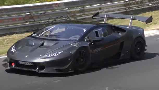 Lamborghini Huracan Super Trofeo Road Legal