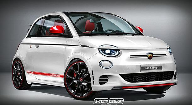 Nuova Fiat 500e Abarth