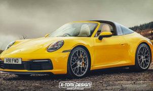 Porsche 911 Targa 4S 2021