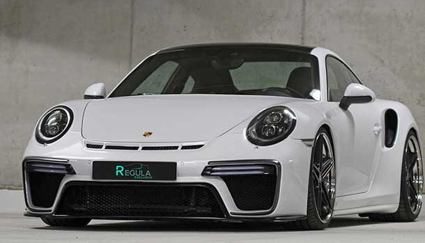 Porsche 911 Turbo S by Regula Exclusive