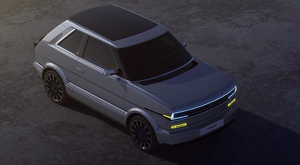 Fiat 126 EV Render