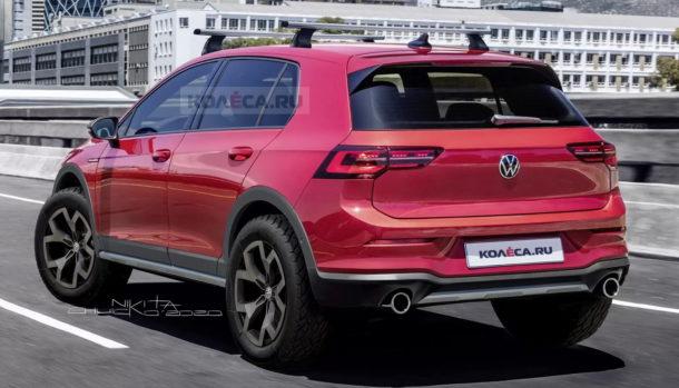 Volkswagen Golf Mk8 Country Syncro