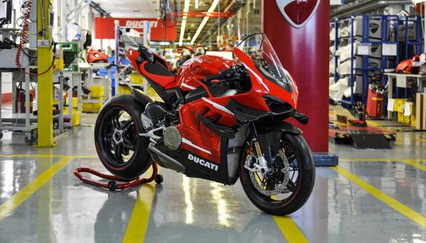 Ducati Superleggera V4: avviata la produzione!