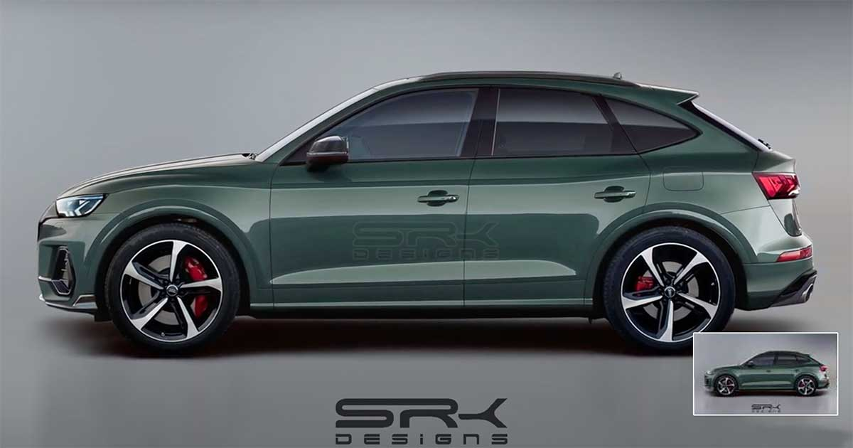 Audi Q5 Sportback Coupé 2021: un rendering potrebbe ...