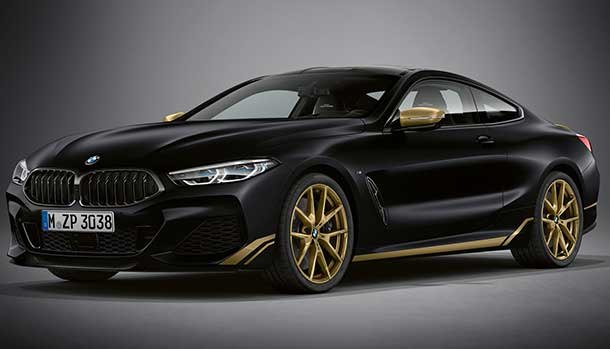 BMW Serie 8 Golden Thunder Edition