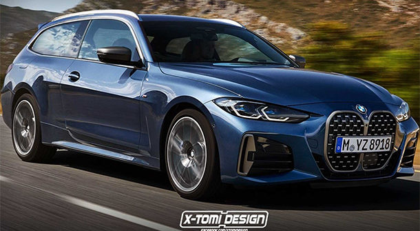 BMW Serie 4 Shooting Brake by X-Tomi Design
