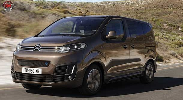 Citroen e-SpaceTourer: il van full electric