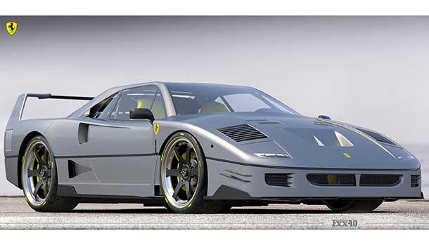 Ferrari FXX40