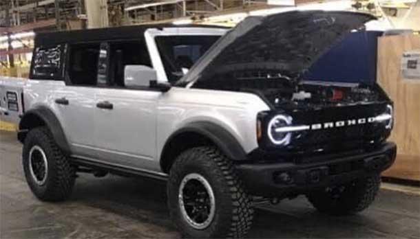 Ford Bronco sarà presentata il 9 Luglio