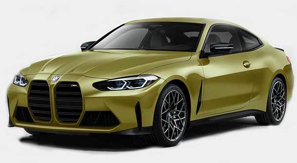 Nuova BMW M4 Coupe 2021