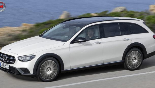 Nuova Mercedes-Benz Classe E 2021