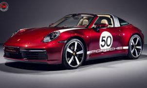 Ibrahimovic - Porsche 911 Targa 4S Heritage Design Edition