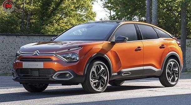 Citroen e-C4 il nuovo SUV Coupé ibrido!