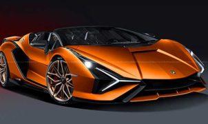 Lamborghini Sian FKP 37 Roadster