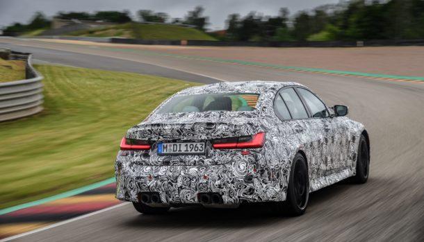 Nuova BMW M3 2021, dati tecnici, design, la prova in pista, uscita 7