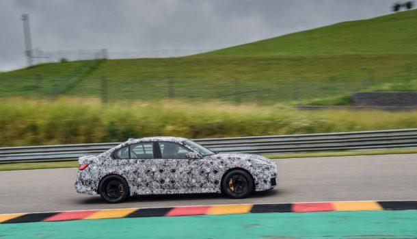 Nuova BMW M3 2021, dati tecnici, design, la prova in pista, uscita 9