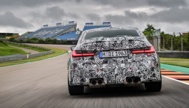 Nuova BMW M3 2021, dati tecnici, design, la prova in pista, uscita 6