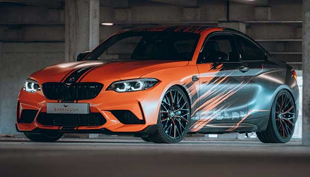BMW M2 Competition by JMS