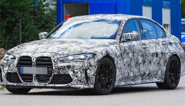 Nuova BMW M3 2021, dati tecnici, design, la prova in pista, uscita 3