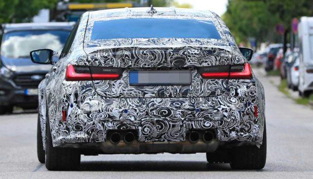 Nuova BMW M3 2021, dati tecnici, design, la prova in pista, uscita 1