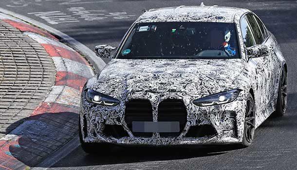 BMW M3 2021 - Nurburgring