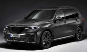 Nuova BMW X7 Dark Shadow Edition