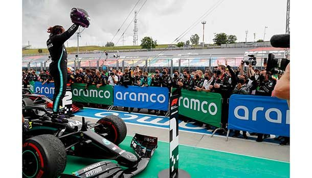 F1 2020 GP Ungheria - Lewis Hamilton