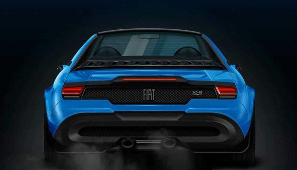 Fiat X1/9 render D'Amico