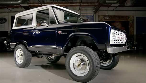 Ford Bronco V8 - Jay Leno