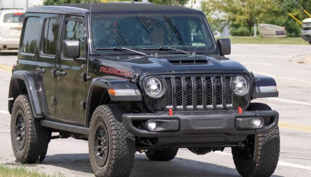 jeep wrangler rubicon v8