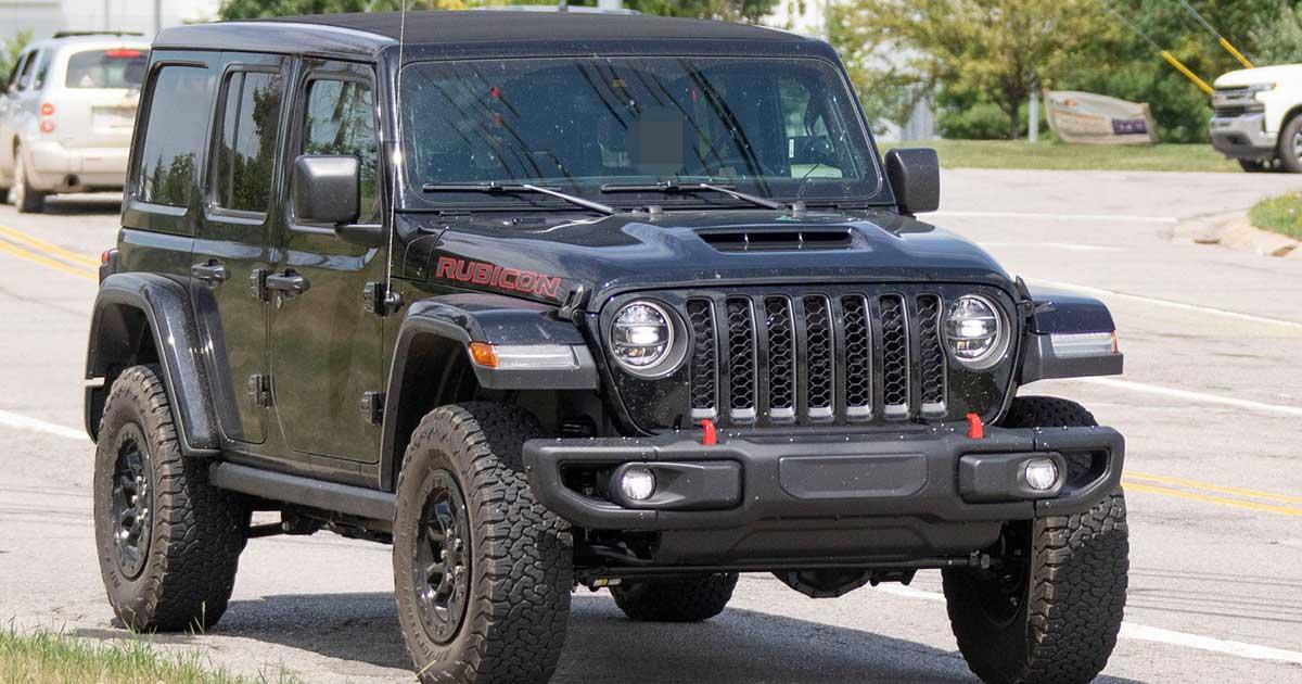 jeep wrangler rubicon punterà sul v8 per il 2021
