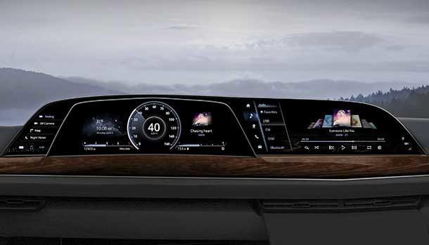 LG Electronic OLED Cadillac Escalade 2021