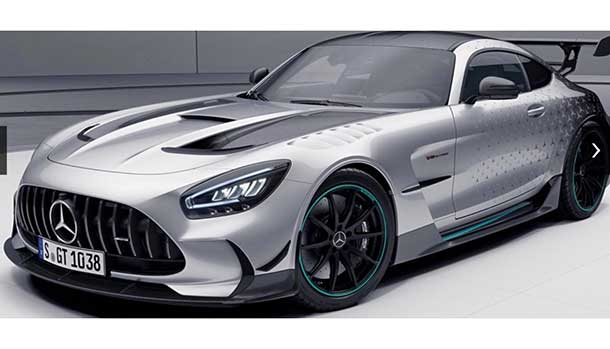 Mercedes-AMG GT Black Serie P One Edition
