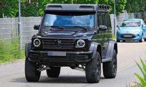 Mercedes Classe G 4x4 al quadrato 2021