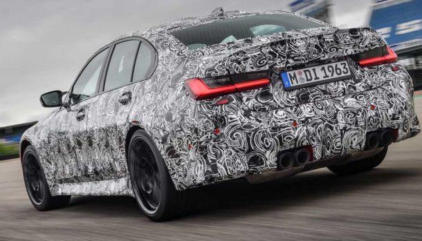Nuova BMW M3 2021, dati tecnici, design, la prova in pista, uscita 5