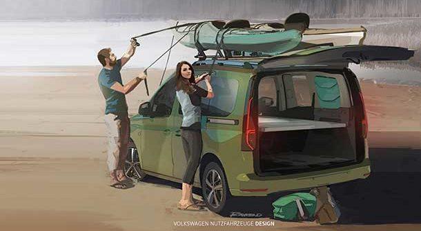 Volkswagen Caddy Beach 2021