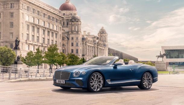 Un look esclusivo, la griglia double Diamond caratterizza il frontale Bentley Continental GT Convertible