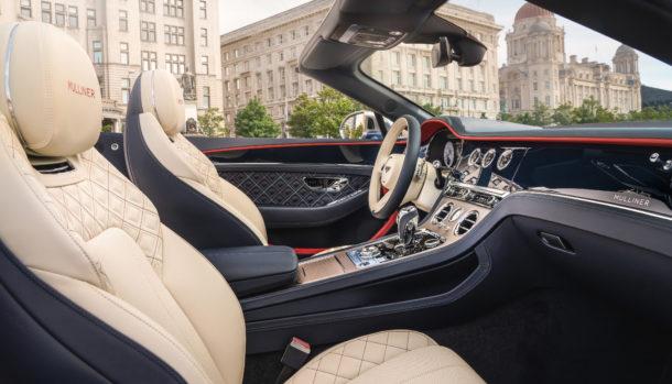 Un look esclusivo, la griglia double Diamond caratterizza il frontale Bentley Continental GT Convertible 3