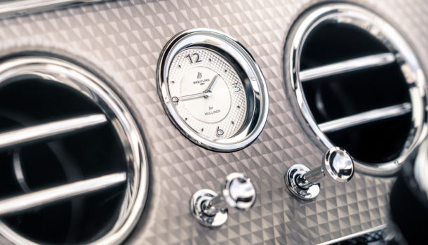 Un look esclusivo, la griglia double Diamond caratterizza il frontale Bentley Continental GT Convertible 8