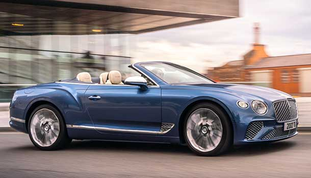 Bentley Continental GT Convertible Mulliner 2021