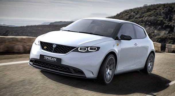 Lancia Ypsilon 2020 Render