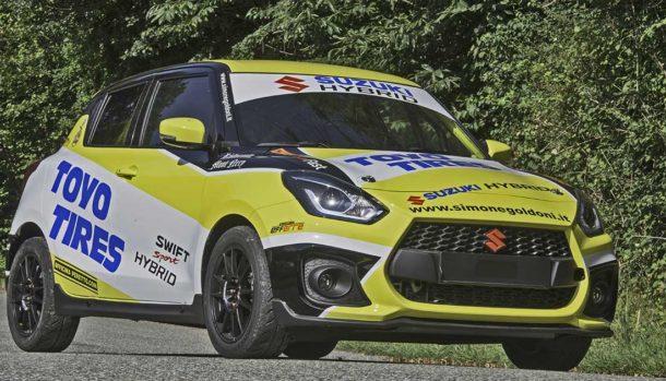 Suzuki Swift Sport Hybrid R1