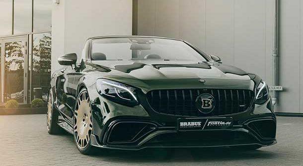 Mercedes-AMG S63 Cabrio by Brabus e Fostla