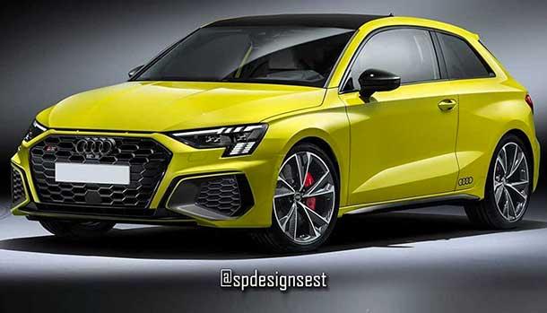 Audi S3 tre porte 2021